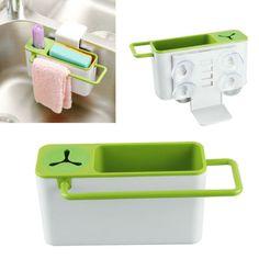 Sucker-Debris-Rack-Storage-Kitchen-Utensils-Dish-Rack-Storage-Box