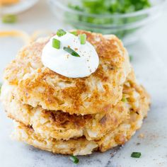 Cheesy Cauliflower Pancakes – Real Housemoms