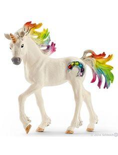 Schleich Rainbow Unicorn Foal SC70425 NEW www.rollercoasterkids.com.au