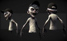 KID ZOMBIE by DuncanFraser.deviantart.com on @deviantART