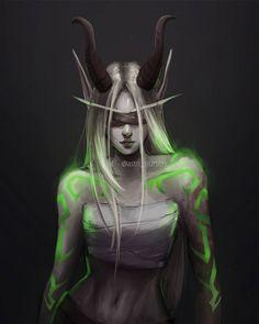 World of Warcraft Art Board ^^ // Blizzard // wow // // Digital // Geek // Blood Elf Demon Hunter Dark Fantasy Art, Fantasy Women, Fantasy Girl, Fantasy Artwork, Final Fantasy, Fantasy Character Design, Character Art, Art Warcraft, World Warcraft