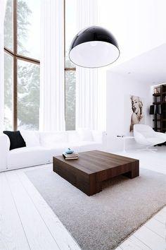 Minimalist square wooden coffee table for a modern living room #coffeetabledesign modern coffee table | www.bocadolobo.com #interiordesign #decor #moderncoffeetables #moderncentertables