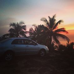 """#Rajbagh #Goa #Calm #Beach #Sunset #Travel"""