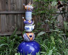 Summer DIY Projects: Garden Mosaics