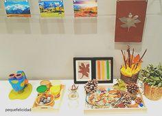 CÓMO FABRICAR UN RINCÓN DE OTOÑO (al estilo Montessori) Montessori, Reggio Emilia, Cool Stuff, Frame, Babyshower, Home Decor, Home, Activities, Creativity