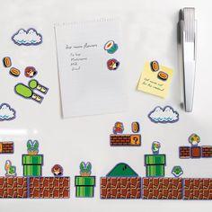 Nintendo Super Mario Bros Collectors Edition Magnets