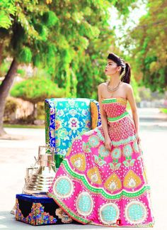 Ali Xeeshan's Baghawat Collection. Model: Amna Babar Photography: Abdullah Haris