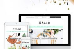 Introducing Bisou Theme- a playful,resposive and woocommerce ready theme. Bisou meansKissin French. This theme has abeautiful widgetized homepage+ a veryeffective widget areafor Genesis