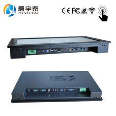 15「産業タッチスクリーンpcで1024 × 768抵抗膜タッチceleron c1037u 1.8 ghzオールインワンpcインストール埋め込ま