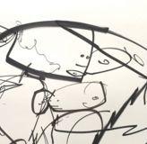Détail - Oeuvre de Futura à découvrir sur www.streetartgalerie.com #futura #futura2000 #painting #art #legend #graffiti #streetart #artists…
