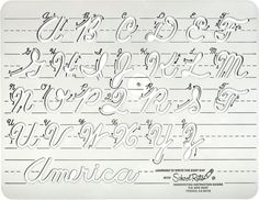 Cursive Handwriting Instruction Guide: With the advent of computers, penmanship and particularly the art of cursive has fallen by the wayside in many schools. This easy-to-use handwriting guide teaches youngsters to write legibly by providing them with visual cues on how to execute keystrokes as they trace the letter via the clear-plastic stencil.