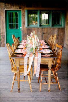 5 tipos de caminos de mesa para la decoración de tu boda | Preparar tu boda es facilisimo.com