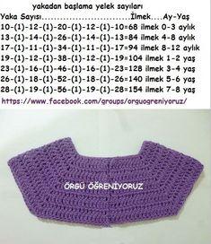 Como tejer un saco campera cardigan chambrita a crochet o ganchillo paso a paso crochet freecrochet knittingpatterns knitting – Artofit Diy Crochet Cardigan, Crochet Baby Jacket, Gilet Crochet, Crochet Baby Dress Pattern, Crochet Yoke, Crochet Girls, Crochet Diagram, Crochet Chart, Crochet For Kids