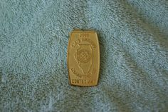 2000 CDGA State Amateur Championship Contestant Badge Money Clip Money Clips, Badge, Badges, Money Clip