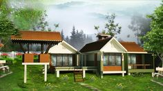 BROOK DALE VILLA 2 BHK COST (MINIMUM 10 CENT LAND & VILLA) Rs. 47,45,000/-