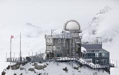 Уникальная обсерватория «Sphynx» в Швейцарских Альпах