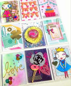Tombow's Video Challenge with guest designer Serena Bee. Pocket letter ft, dear lizzy and vera lane studios