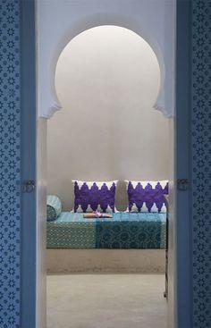 Ryad Dyor, enter a house of light, Morocco