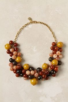 Calico Corn Necklace - StyleSays
