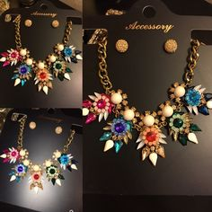 Stunning Fashion Necklace Gorgeous set!! Last one available!! The quality is superb Amiga!! Jewelry Necklaces