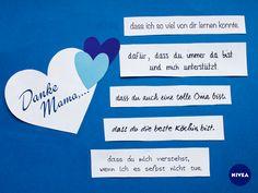 Mama ist einfach die Beste! #DankeMama #Muttertag #Mom #Mothersday #Zitat