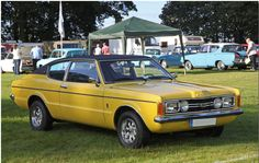 In 1973 the Taunus TC was given a facelift with rectangular lamps and new grille. The Coupe model was in production until but no Cortina versions were ever sold. Classic Cars, Lamps, Capri, Model, Autos, Cutaway, Cars, Lightbulbs, Mathematical Model