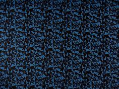Atelier+Brunette+::+Facet+blau/schwarz+von+::+stoffbüro+::+auf+DaWanda.com