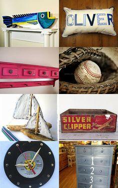 Cozy•Stylish•Chic - Inspiring design, decor and fashion. Baseball on