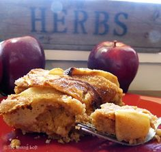 Irish spiced apple cake - September 2012. Recipe from Celtic Folklore Cooking by Joanne Asala.