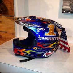 Jeremy McGrath Troy Lee Designs Helmet | Flickr - Photo Sharing!