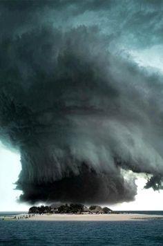 Ominous Storm, The Bermuda Triangle