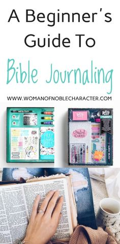 Bible journaling: Tips for beginners. How to start, what to choose and what to do by guest author Connie Bartlett. Bible Journaling to grow your faith. #Bible #Biblejournaling #journaling #creativeworship #Christian #faith #Christianwoman