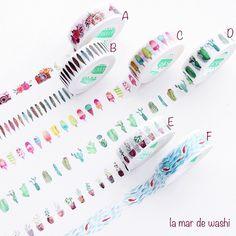 Washi Tape variados