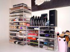 My Makeup Storage & Collection | Vanity Tour, Muji Drawers