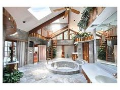 The ultimate spa bathroom Click here to see the rest of this beautiful home