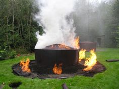 Making Charcoal on a larger scale