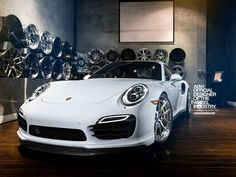 Porsche 911 Turbo S on ADV.1 Alloys is as Clean as they Come | automotive99.com