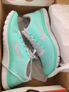 Tiffany blue Nikes...yes please!