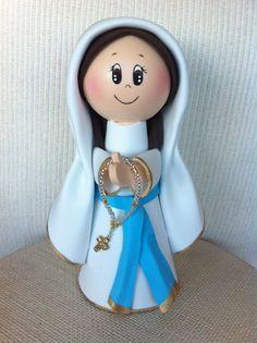 Virgen Inmaculada en Gomaeva  Llenadegracia® PVP. 21 €    Pedidos a través de: contacta@llenadegracia.net