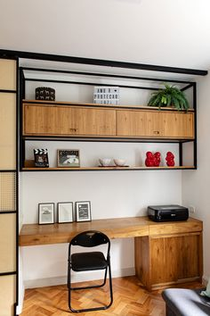 Creative craft decors for office walls? home office livin… – Modern Home Office Design Home Office Space, Home Office Design, Home Office Decor, Home Interior Design, House Design, Home Decor, Office Art, Office Ideas, Men Office