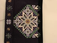 Made by Inger Johanne Wilde Folk Costume, Costumes, Betta, Traditional Dresses, Cross Stitch, Quilts, Embroidery, Blanket, Ornament