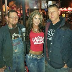 Moonshiner's Josh and Bill hanging out with us in the holler!