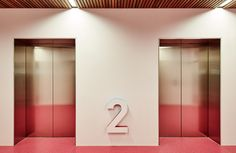 Medibank headquarters – Workplace wayfinding, signage & environmental graphics by Fabio Ongarato.