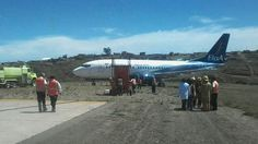 ALERT A Boeing 737 of BoA Airlines skids off runway at Sucre, Bolivia (@aviacion_al_dia)