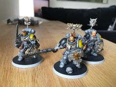 space wolves bladeguard - Google Search Psychic Awakening, Warhammer 40k Space Wolves, The Fisher King, Rogue Traders, Blood Bowl, Sons, Geek Stuff, Google Search, Table