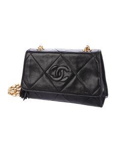7d7af204391a Chanel Vintage CC Camera Bag - Handbags - CHA290015 | The RealReal Cc Camera,  Black