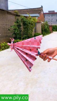 Diy Crafts Hacks, Diy Crafts For Gifts, Diy Home Crafts, Diy Arts And Crafts, Cool Paper Crafts, Paper Crafts Origami, Fun Crafts, Instruções Origami, Dollar Origami