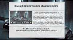 Video Background http://dynamicblox.com/video-background/  How to design and develop a Fullscreen Video background.