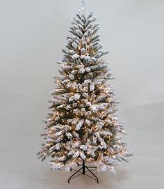 My new flocked Christmas Tree purchased at Kohls after Christmas for 70% less!  Can't wait to set this up in 2012.