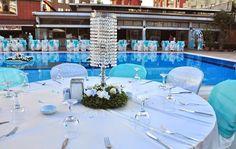 Wedding Table Themes, Pamukkale, Marmaris, Antalya, Table Decorations, House, Furniture, Home Decor, Decoration Home